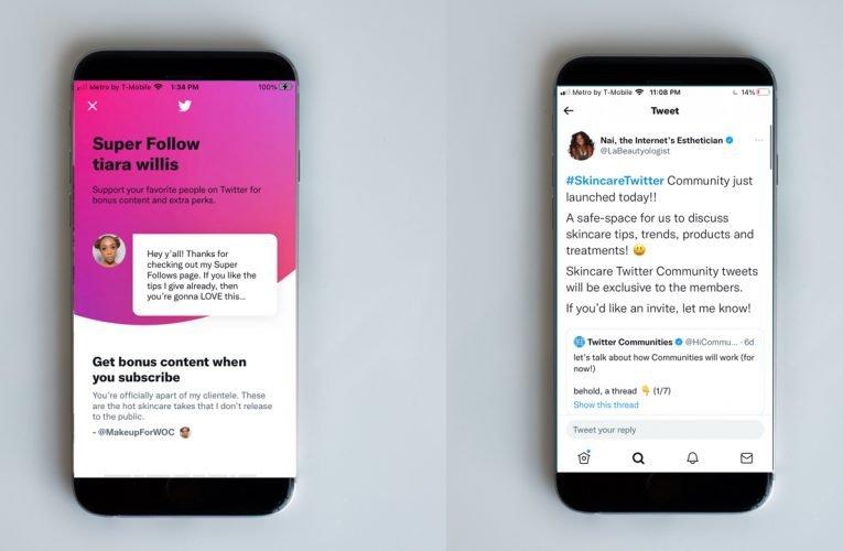 Twitter publie des nouvelles qui incluent la monétisation du contenu