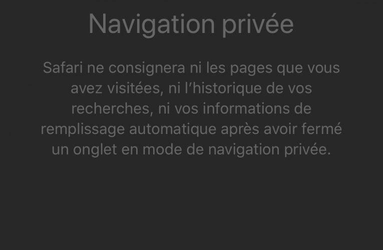 Google: Comment activer la «navigation anonyme» sur iPhone